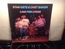 CHET BAKER & STAN GETZ - Line For Lyons ~ SONET 899 *1983* w/Mraz, Lewis ->RARE