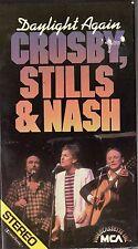 CROSBY STILLS & NASH - DAYLIGHT AGAIN - VHS - NTSC - NEW - Never played!! - RARE