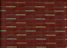 Arc/com Etc. Russet Woven Modern Contemporary Abstract Upholstery Fabric