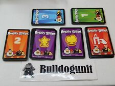 2010 Angry Birds Knock on Wood Game Replacement Cards Only