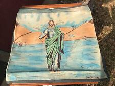 Vintage Prison Art Handkerchief Pano Jesus Walking On Water View Payment Options