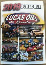 2019 Lucas Oil Speedway Missouri Racing Pocket Schedule