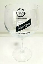 SCHWEPPES GIN AND RUM FESTIVAL GLASS
