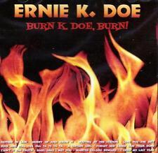 Ernie K Doe - Burn, K-Doe, Burn (NEW SEALED CD)  Mother In Law, A Certain Girl
