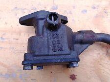 1973 Mercruiser 165HP inline six oil pump assembly pick up tube & screen assem
