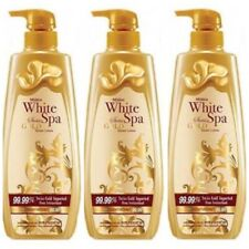 400MlxPack3 Mistine White Spa Body Lotion Serum 99.99% Swiss Gold Whitening +Dhl
