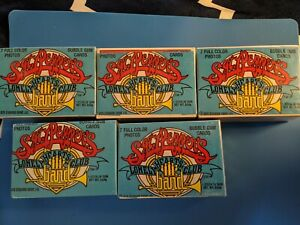 LOT OF 5 - 1978 DONRUSS SGT. PEPPERS LONELY HEARTS CLUB COMPLETE SET 66 CARDS