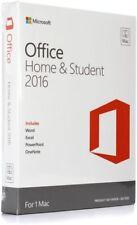Microsoft Office Mac Home Student 2016