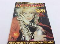 KERRANG Magazine - No 70 - Rock Music - Heavy Metal - (ref6)