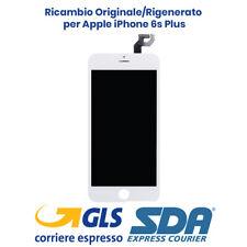 DISPLAY LCD APPLE IPHONE 6S PLUS BIANCO ORIGINALE RIGENERATO