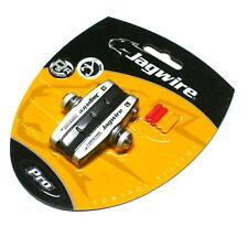 JAGWIRE Sleek Pro Road Energy Brake Shoes / pads Shimano, Black/Silver, J68