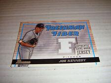 JOE KENNEDY-2002 BOWMAN FRESHMAN FIBER-GAME WORN JERSEY-FF-JK