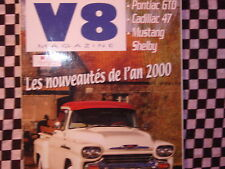 revue V8 n°37 / 2000 / MUSTANG SHELBY GT 350 65 / PONTIAC GTO 65 / DODGE CAB 61
