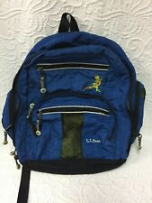 L.L. Bean Blue Youth Backpack