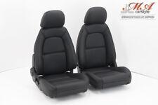 Neu-Beziehen der 2 Sitze mit Echtleder [passend zu Mazda MX-5 NA Europe] Schwarz