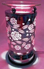 Electric  Metal Touch Fragrance Lamp/Oil Burner/Wax Warmer/Night Light g-0020