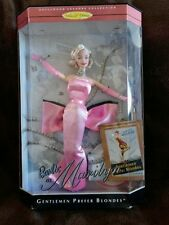 """1997 Barbie as Marilyn Pink Dress """"Gentlemen Prefer Blondes"""", 17451"""