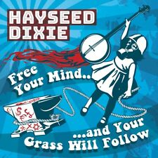 """Hayseed Dixie - Free Your Mind And Your Grass Will Follow (RSD NEW 12"""" VINYL LP)"""
