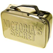 Victoria's Secret Gold Vanity Cosmetic Makeup Bag Large