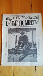 August 27, 1910 New York Dramatic Mirror w/ Rob Lorraine cover Mabel Montgomery