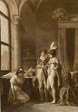 Le pardon Philippe Triere après Jean-Baptiste Mallet 1882 avant la lettre