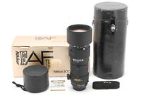 [AB- Exc] Nikon AF NIKKOR 300mm f/4 ED IF Telephoto Lens w/Box From JAPAN 6927