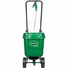 Scotts Garden Rotary Spreader Variable Settings Apply Lawn Food Grass Seed Easy