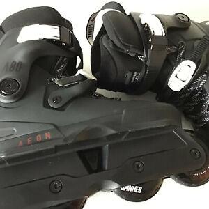USD Aeon 80 Skates Size  6.0-7.0 (39-40) Black +