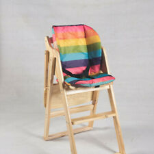 Portabable Baby Feeding High Chair Infant Toddler Booster Folding Safe Wood UK