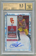 2016 Contenders Draft Su'a Cravens Cracked Ice RC Auto SP 16/23 BGS 9.5/10 POP 1