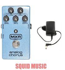 MXR Dunlop M-234 Analog Chorus Guitar Effects Pedal M234 ( FREE POWER SUPPLY )