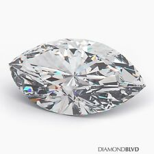 2.38 Carat K/VS2/Ex Cut Marquise Shape AGI Earth Mined Diamond 15.47x6.82x3.71mm