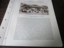 Hannover Archiv 4 Haupt-Residenzstadt 49 Lazarettbaracke 1870/71 dt- frz. Krieg