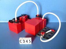 (C345) Playmobil pompe + réservoir caserne pompier 3880 3175 5361 4819