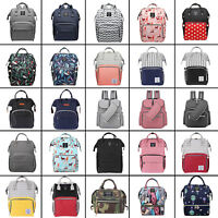 LEQUEEN Mummy Maternity Nappy Diaper Bags Large Capacity Baby Backpack Rucksack