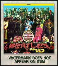 THE BEATLES SGT. PEPPER ALTERNATE ALBUM COVER #2