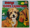 "BENJI GOES CAMPING Kid Stuff 7"" Vinyl Book & Record SEE HEAR READ Childrens"