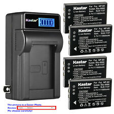 Kastar Battery LCD Wall Charger for Kodak KLIC-5000 & Kodak EasyShare LS743