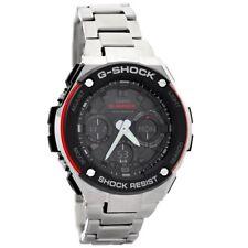 Casio Mens Gst-w100d-1a4er G-shock Radio Controled Solar Powered Watch