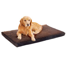 "Extra Large PAW Memory Foam Dog Mat Bed With Removable Cover 46"" x 27"""