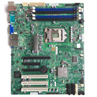 Supermicro X9SCA-F single-channel for workstation server CPU C204 1155 pin
