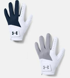 Under Armour Mens UA Medal Golf Glove - Worn on Left Hand - Pick Size & Color