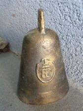 Ancienne cloche en bronze N°6 chèvres vaches ?? TBF