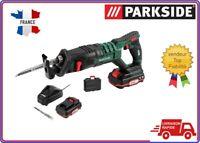 PARKSIDE® Scie sabre sans fil PSSA 20-Li A1, 20 V avec chargeur batterie valise