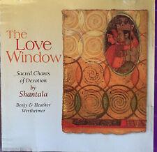CD: Shantala - The Love Window (Sacred Chants Of Devotion)