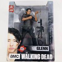 "GLENN RHEE The Walking Dead amc TV Show 10"" Deluxe Action Figure McFarlane 2016"