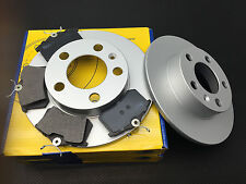 SKODA FABIA OCTAVIA 1997-2006 BRAKE DISCS AND & PADS