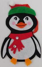 Penguin Felt Ornament Gift Card Holder New Holiday Christmas