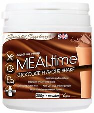 Mealtime Chocolate Meal Replacement Shake Weight Loss Diet Protein No Dairy 300G