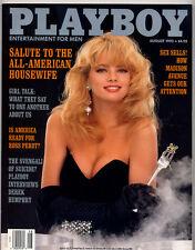Playboy august 1992 ed.USA Ashley Allen
